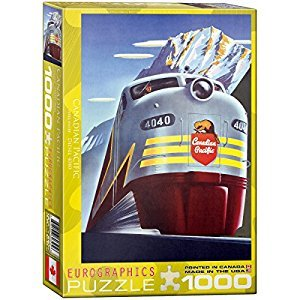 CP Rail Diesel Locomotive 1000-Piece Puzzle