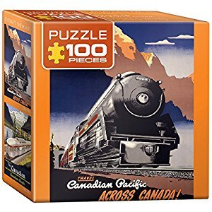Eurographics Canadian Pacific-Travel CPR Mini Puzzle (100-Piece)