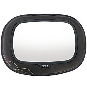 BRICA 63009 Mega Baby In-Sight Mirror with Soft Touch, Grey