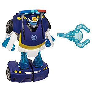 Playskool Heroes A2769 Transformers Rescue Bots Energize Chase The Police-Bot Figure