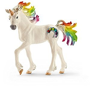Schleich Rainbow Unicorn Foal Toy Figure