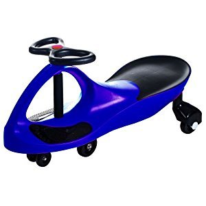 Lil' Rider Wiggle Ride-On Car, Blue