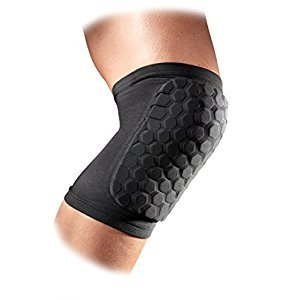 McDavid Hex Knee/Elbow/Shin Pads, One Size, Black, Youth