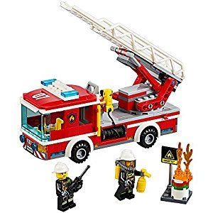 LEGO® City Fire Ladder Truck 60107 Cool Toy For Kids
