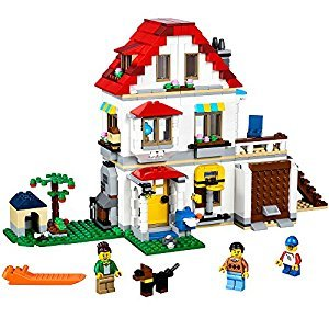 LEGO Creator Modular Family Villa Building Kit, 728 Piece
