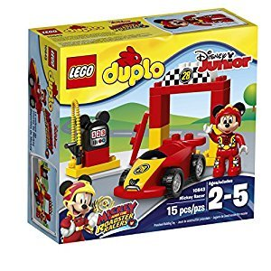 LEGO DUPLO Brand Disney Mickey Racer Building Kit, 15 Piece