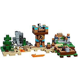 LEGO Minecraft the Crafting Box 2.0 Building Kit, 717 Piece