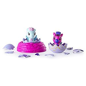 Hatchimals 6034163 Colleggtibles-2 Pack Plus Nest (Styles & Colors May Vary) by Spin Master