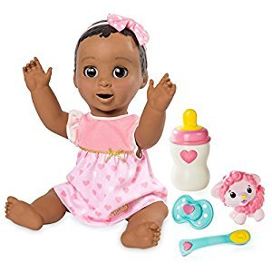 Luvabella - Dark Brown Hair - Responsive Baby Doll with Realistic Expressions and Movement