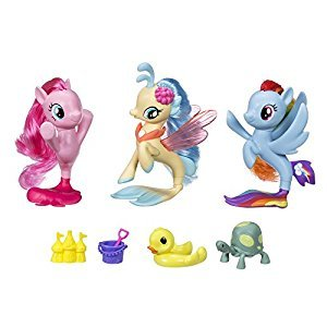 My Little Pony Game: The Movie Sea Pony Collection Set