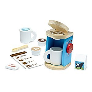 Pretend Play-Brew & Serve Coffee Set (11 Pieces) (