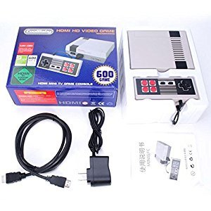 Mini TV Handheld Game Console Video Game Console For Nes Games with 600 Different Built-in Games PAL NTSC