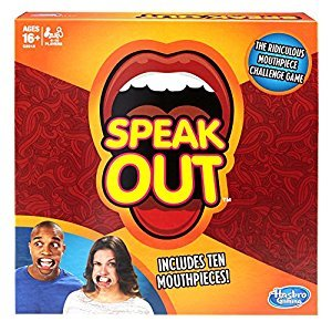 Speak Out Game 2017, English (with 10 Mouthpieces)