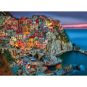 Buffalo Games Signature Series Cinque Terre, 1000-Piece Jigsaw Puzzle