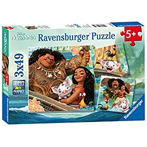 Ravensburger 9385 Disney Moana Born To Voyage Puzzle (49 Piece)