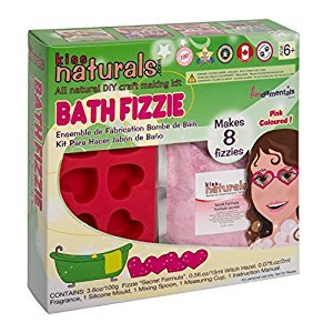Kiss Naturals: DIY Bath Fizzie Making Kit