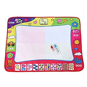 Water Drawing Mat Painting Writing Board Toy Doodle Aqua Board With 2 Magic Pens Kid Doodling And Learning Tool 80*60cm