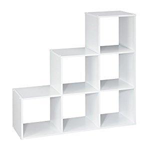 ClosetMaid 1043 Cubeicals 3-2-1 Cube Organizer, White