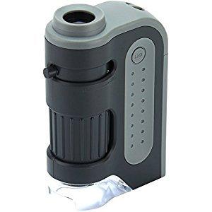 Carson Micro Brite Plus 60X-120X LED Lighted Pocket Microscope