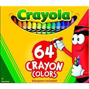 Crayola 64-Count Crayons