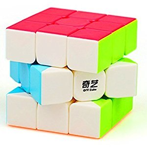 CuberSpeed QiYi Warrior W 3x3 Stickerless Speed cube Puzzle