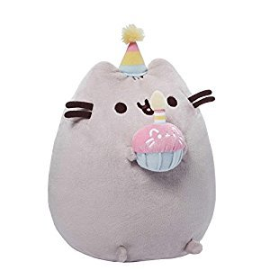 GUND Pusheen Happy Birthday Plush, 10.5