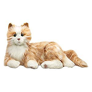 Joy For All Orange Tabby Cat Toy