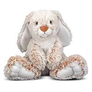 Melissa & Doug Burrow Bunny Rabbit Stuffed Animal (35.50 cm)