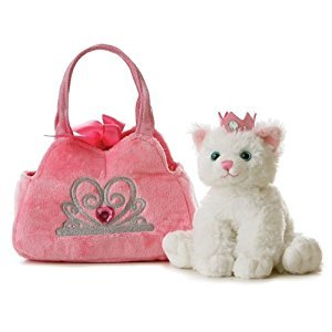 Princess Kitten Fancy Pals Purse with 8