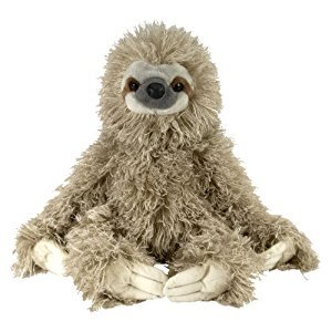 Wild Republic 12257 Cuddlekin Three Toed Sloth 12-Inch Plush
